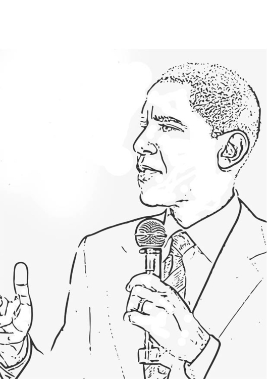 obama and coloring pages - photo #9