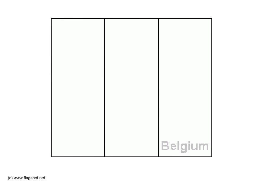 kleurplaat belgie afb 6140
