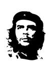 Kleurplaat Che Guevara
