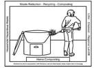 Kleurplaat Compost