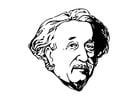 Kleurplaat Einstein