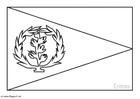 Kleurplaat Eritrea