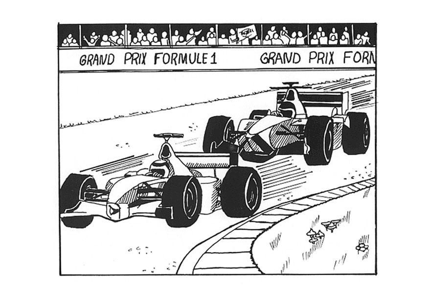 Kleurplaat Formule 1 Ferrari Kleurplaat Formule 1 Afb 9533 Images