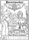 Kleurplaat Hartenmaker