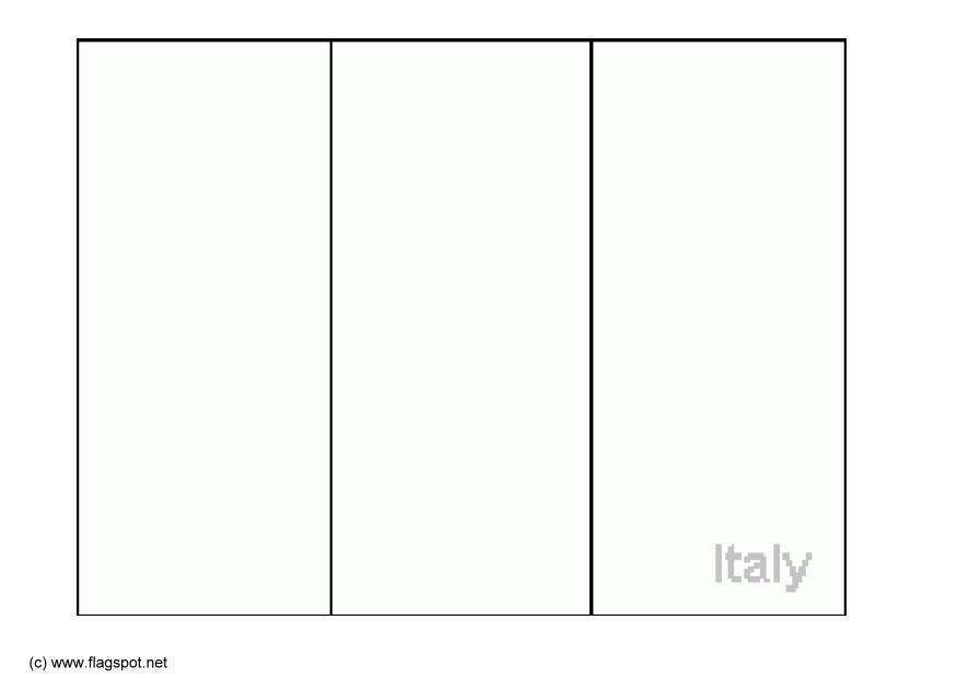 Kleurplaat Italie Afb 6372