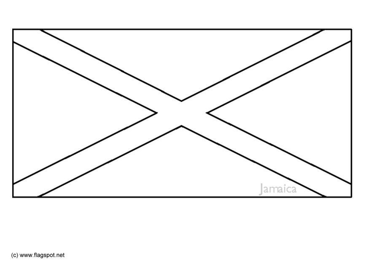 kleurplaten kleurplaat vlag