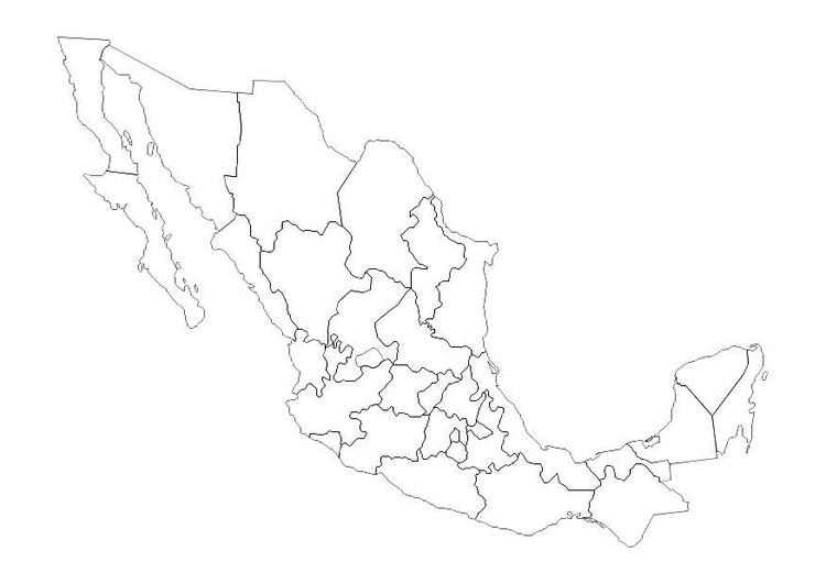 kleurplaat mexico afb 10694 images