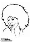Kleurplaat Tina Turner