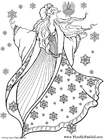 Kleurplaat WinterFee
