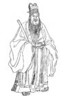 Kleurplaat Yang Chicheng