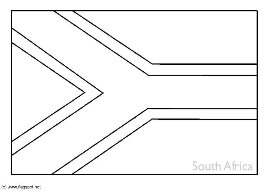 Kleurplaat Zuid Afrika Afb 6268 Philippines National Flag Coloring