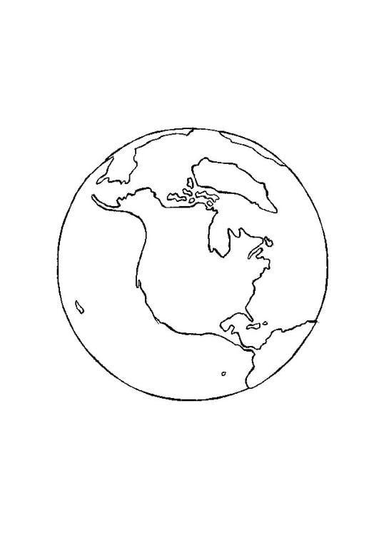 kleurplaat aarde gratis kleurplaten om te printen