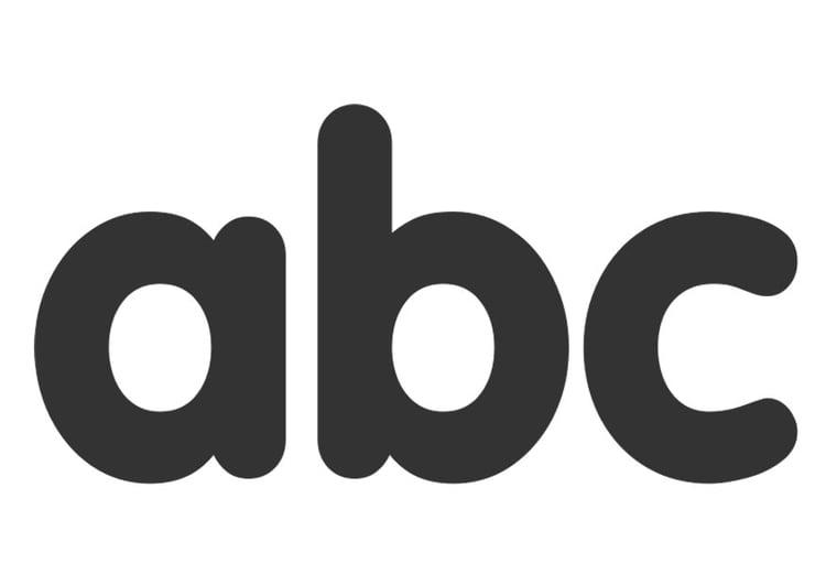 Kleurplaat Abc Afb 26254