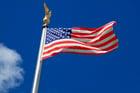 Foto Amerikaanse vlag