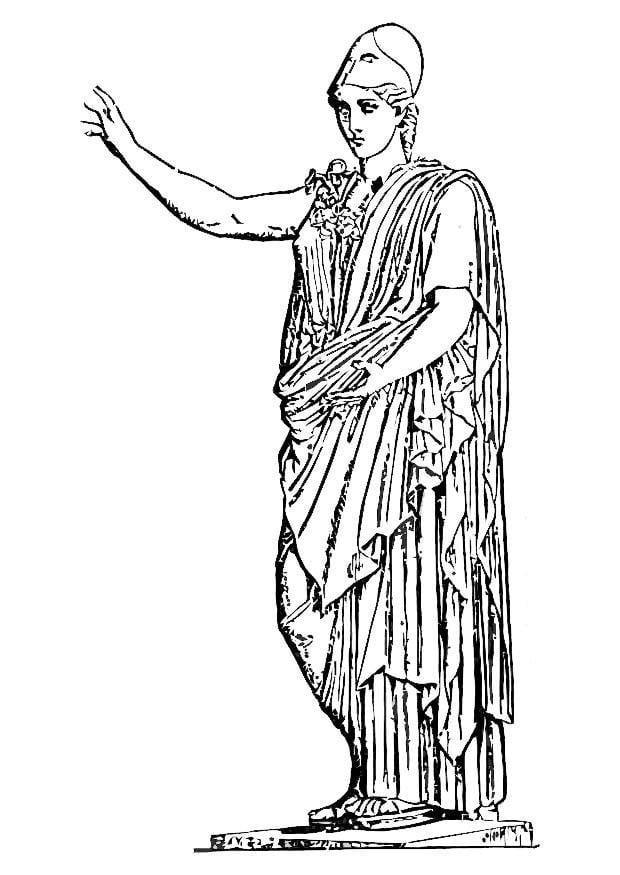 Griekse Mythologie Kleurplaten Goden En Godinnen Griekse Mythologie