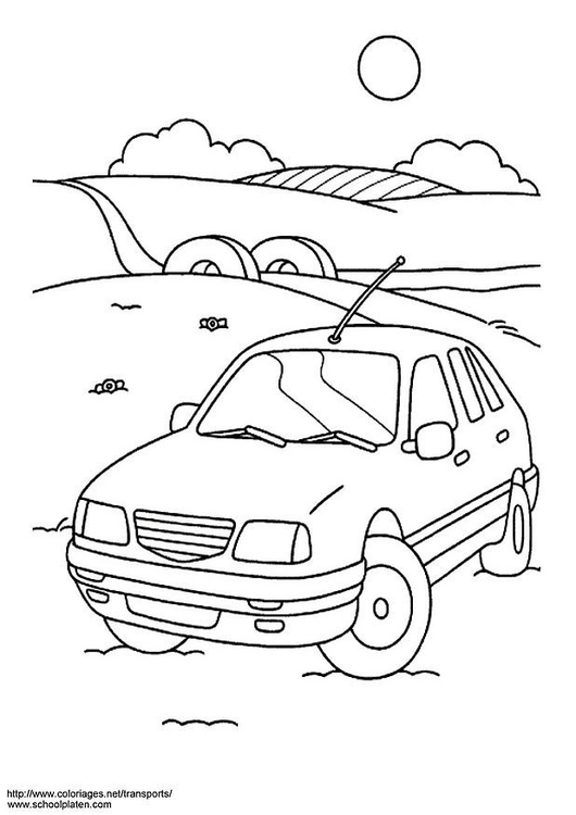 Kleurplaat Kleurplaten Cars.Kleurplaat Auto Gratis Kleurplaten Om Te Printen