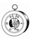 Kleurplaat barometer