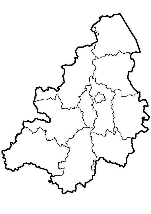 Kleurplaten Pro Kleurplaat Belgi 235 Provincies Afb 8298