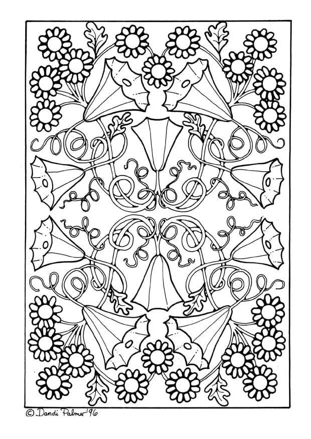 Afbeeldingen Kleurplaten Bloemen Kleurplaat Bloemen Afb 9205