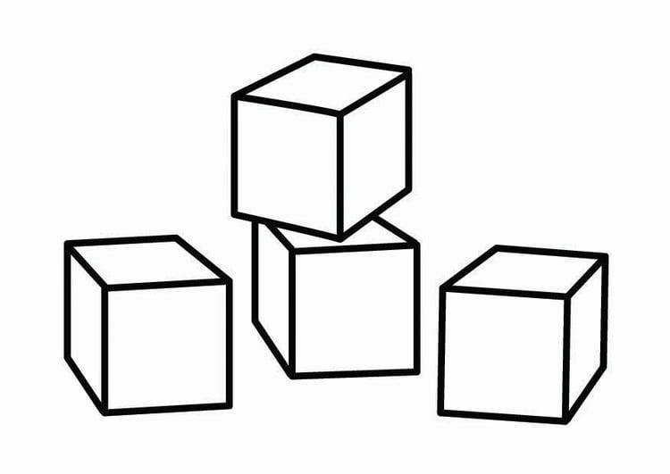Kleurplaat bouwhoek afb 26756 for Construccion de piscinas con bloques