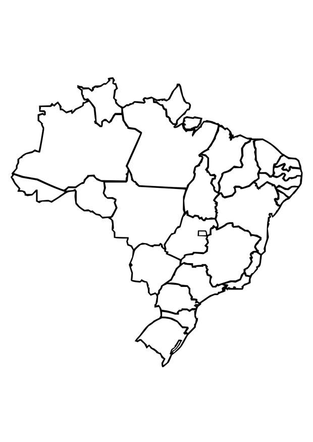 kleurplaat brazili 235 afb 26373