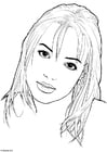 Kleurplaat Britney