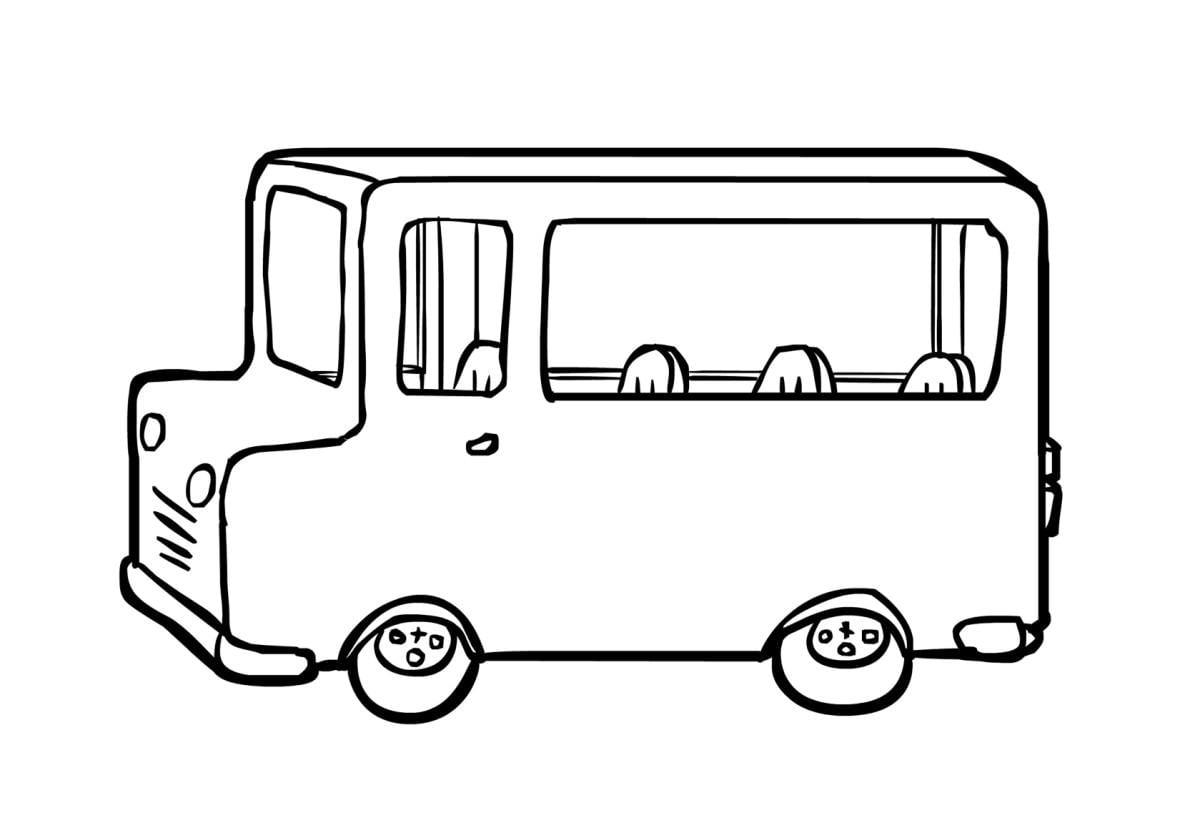 Schoolbus Kleurplaat Kleurplaat Bus 2 Gratis Kleurplaten Om Te Printen