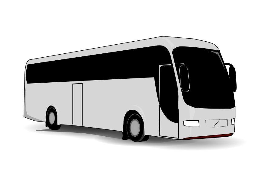Kleurplaten Voertuigen Trein.Kleurplaat Bus Afb 10098