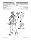 Kleurplaat Canadese Paratrooper tweede wereldoorlog