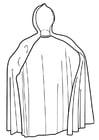 Kleurplaat cape