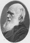 Kleurplaat Charles Darwin