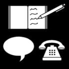 Kleurplaat communicatie