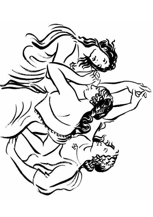 Kleurplaten Dansende Prinses.Kleurplaat Dansen Kleurplaat Dansen Afb 7476 Kleurplatenl Com