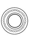 Kleurplaat dharma wiel