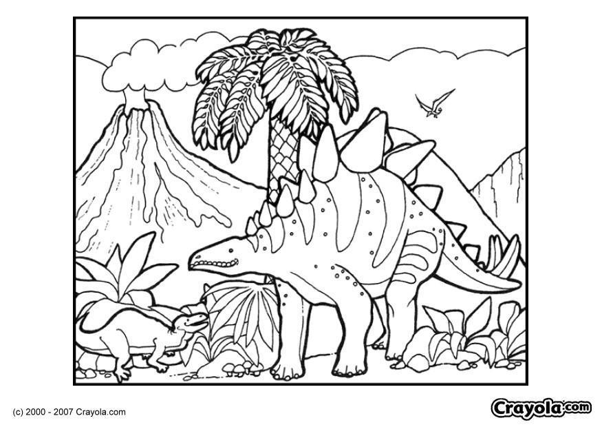 Dibujos Para Colorear Dinosaurios Rex