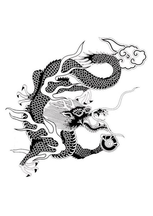 Draken 0011 Draken Chinese Draak Chinees En Kleurplaten