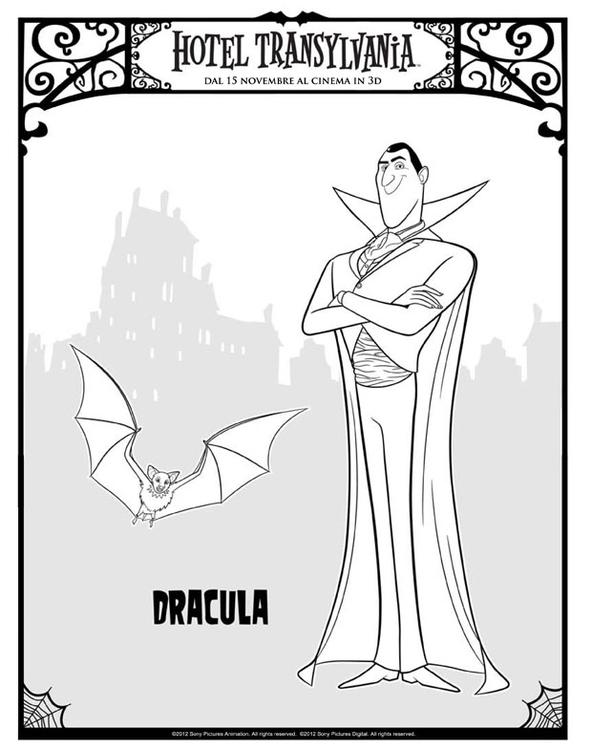kleurplaat dracula gratis kleurplaten om te printen