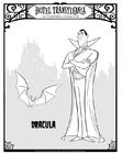 Kleurplaat Dracula