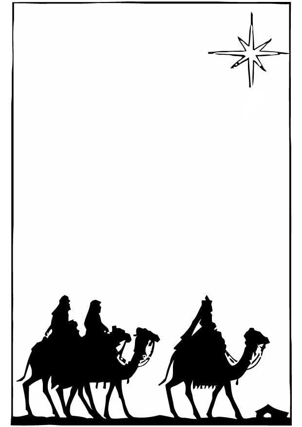 Kleurplaat Drie Koningen Afb 16394 Images