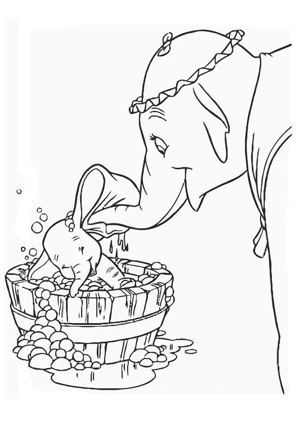 Kleurplaten Rapunzel Film Kleurplaat Dumbo Afb 20751 Images