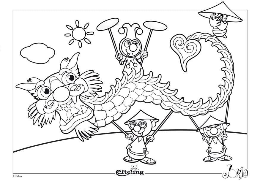 Efteling Kleurplaten Pardoes Kleurplaat Efteling China Gratis Kleurplaten Om Te Printen