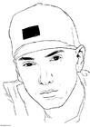 Kleurplaat Eminem
