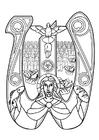 Kleurplaat eucharistieviering