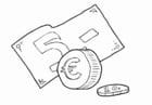 Kleurplaat euro
