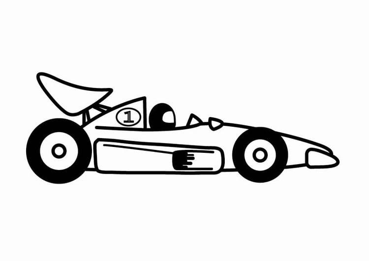 Kleurplaten Van Een Raceauto.Kleurplaat F1 Raceauto Afb 24083 Images