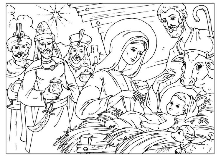 Google Afbeeldingen Kleurplaten Kerst Kleurplaat Geboorte Van Christus Afb 26008 Images