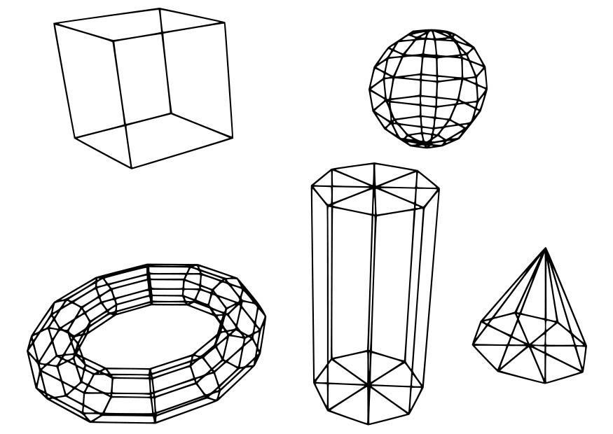 Afbeeldingen Kleurplaten Robot Kleurplaat Geometrische Figuren Afb 18724
