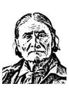 Kleurplaat Geronimo