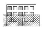 Kleurplaat gevangenis