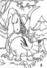 gevecht dinosaurussen